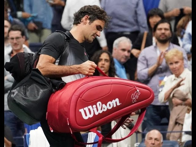 Roger Federer confused by form after Juan Martin del Potro beats him at US Open