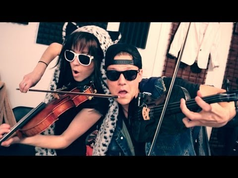 Thrift Shop - Lindsey Stirling & Tyler Ward (macklemore & Ryan Lewis Cover) video