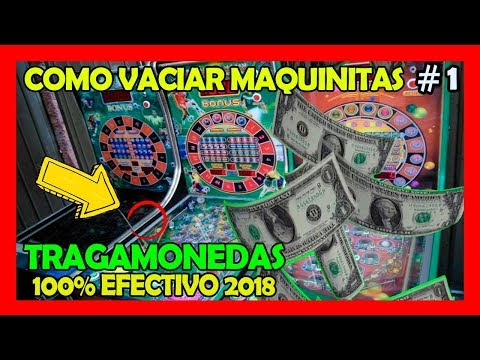 Truco Para Maquinas Tragamonedas Pinball 100% Efectivo!!