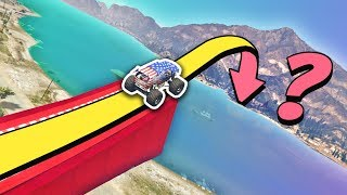 GTA 5 | Can you JUMP OVER the ALAMO SEA?