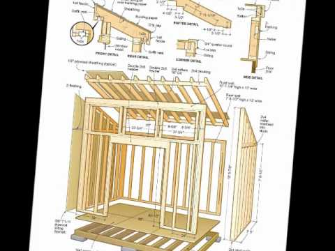 Free shed plans & woodworking plans pdf's download - YouTube