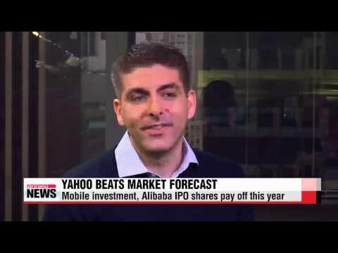 Yahoo beats market expecations for Q3   `실적에 힘받은` 메이어 야후 CEO, 경영 정상화 `마이웨이`