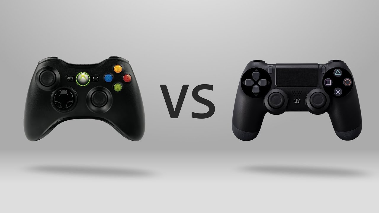 Xbox One Controller vs Ps4 Controller Ps4 vs Xbox One Controller