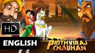 Prithviraj Chauhan | Animated Movie For Kids | English