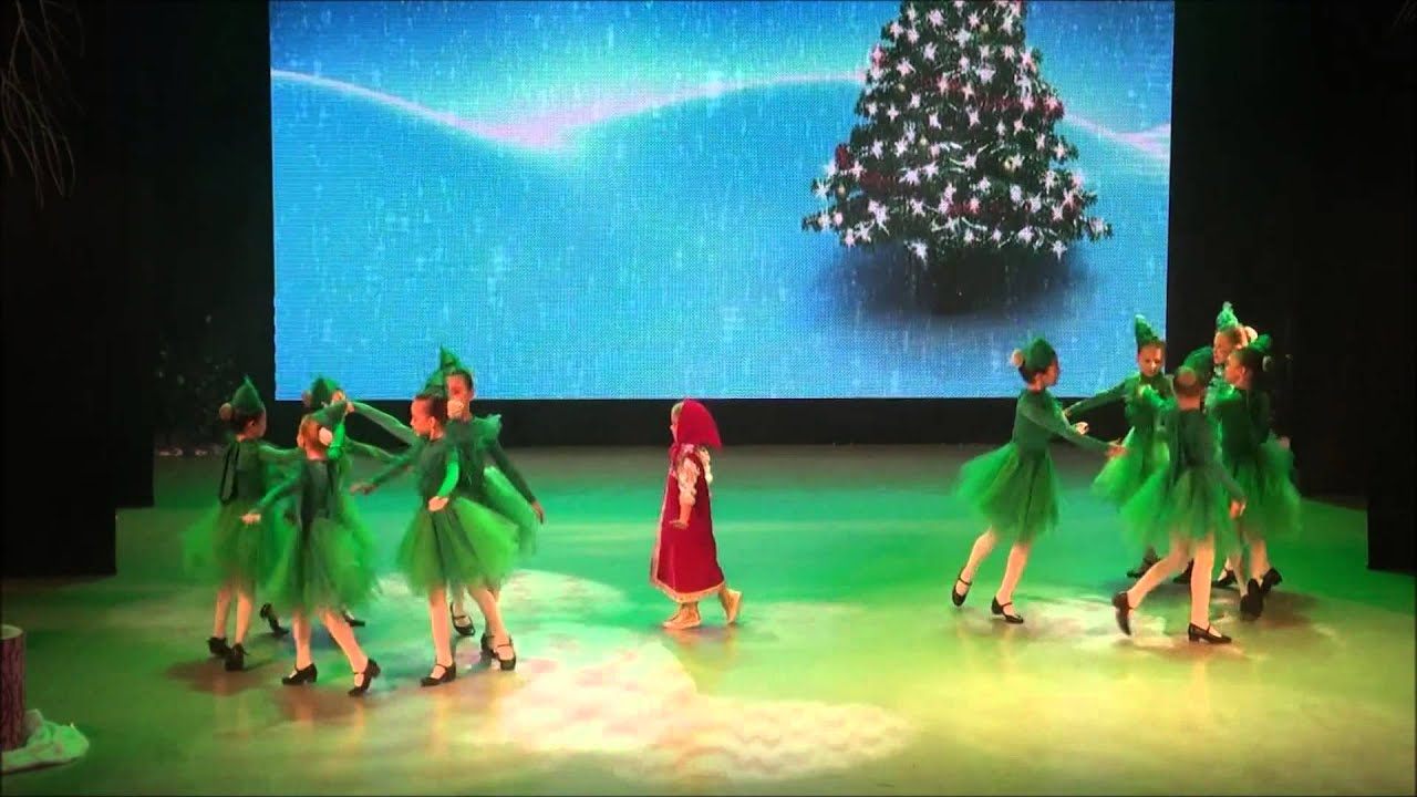 Видео танец на новый год в детском саду