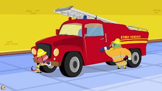 Rat-A-Tat |'Fireman Don And Fire engine Truck &  Rat House'| Chotoonz Kids Funny Cartoon Videos