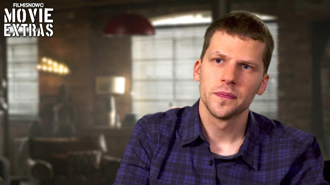 Now You See Me 2 | On-set with Jesse Eisenberg 'J.Daniel Atlas' [Interview]