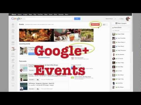 Why Google Plus Events and Video are a Perfect Match