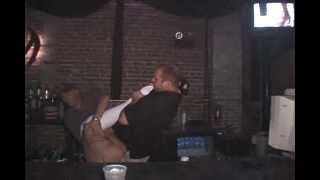 Dancing Fail Saved by Bartender