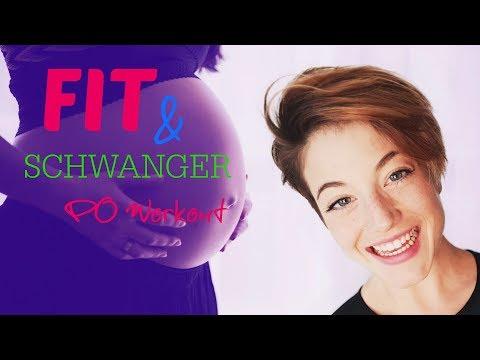 Sport in der Schwangerschaft?! Fit und schwanger das Po Workout