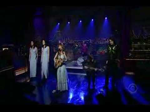 Jenny Lewis on Letterman