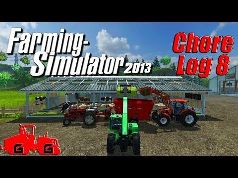 Farming Simulator 2013: Chore Log 8 - Hungry Critters!