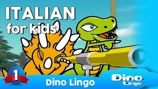 Italian for kids DVD set - Learning Italian for children - Italian language lessons