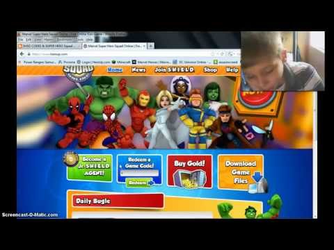 NEW HEROUP SUPER HERO SQUAD CODES 2014