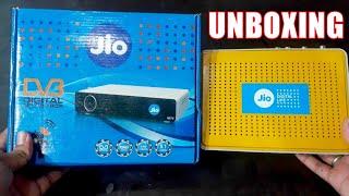Jio DTH | Jio Set Top Box UNBOXING | Aa Gya Jio Ka DTH !! Bas Buy Karo Aur Hamesa Free !!