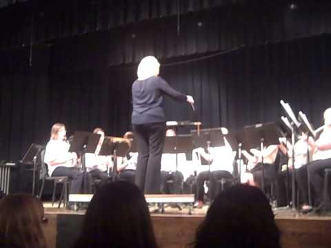 7th and 8th Grade Band Rock Valley Community Schools - 03/07/2014