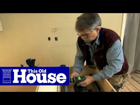 How To Install Kitchen Cabinets This Old House YouTube This Old