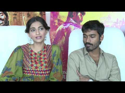 Dhanush And Sonam Kapoor At 'Raanjhanaa' Success Interview Meet