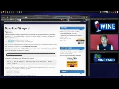 Linux: Wine & Vinyard (Easily Run Windows Applications)
