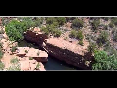 Beaver Creek Cliff Jumping - The Crack: Sedona, AZ
