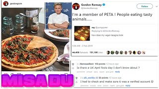 Gordon Ramsay claims he will try going VEGAN - but is he serious?