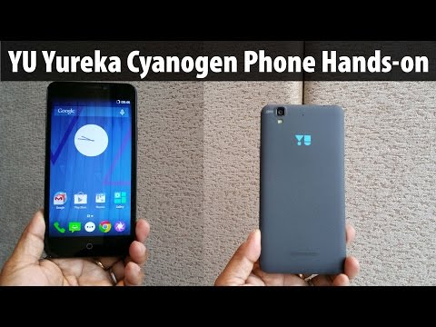 Yu Yureka Unboxing & Hands-on Review Micromax made Cyanogen Phone