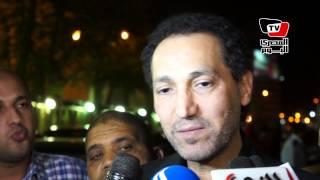 نصير شمة فى عزاء خالد صالح: رحيله غالى ولا يشبه أى رحيل