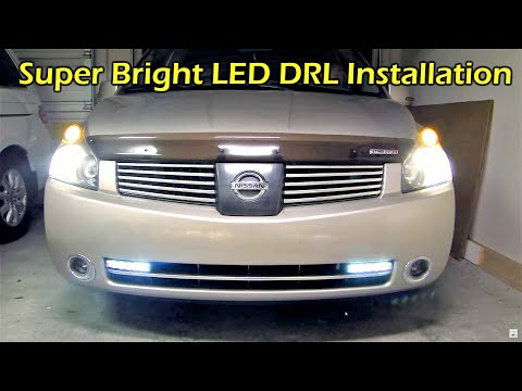 LED DRL (Daytime Running Light) & Controller INSTALL