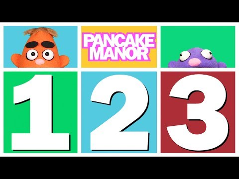 Let's Count 1 2 3 (song For Kids ♫) Pancake Manor video