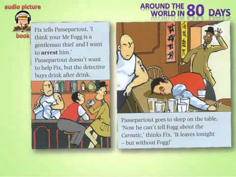 English Learning Audio Book, through picture, story   English subtitle 20
