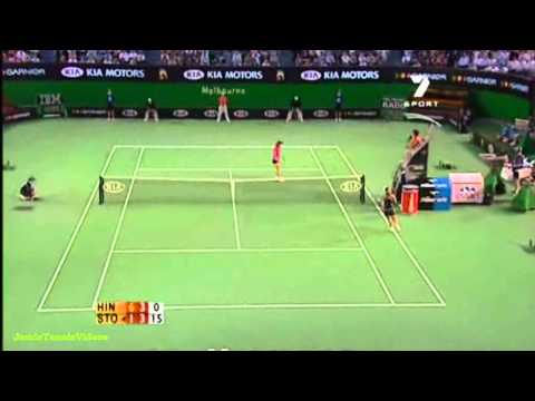 Martina Hingis vs Sam Stosur 2006 AO Highlights