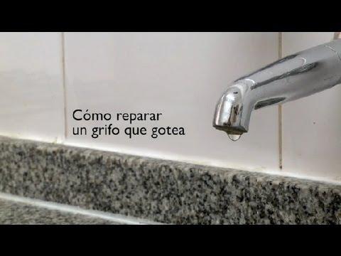 Como reparar un grifo que gotea como reparar un grifo for Como reparar llave de ducha que gotea