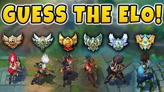 CAN YOU GUESS THE ELO? (YASUO PLAYERS EDITION) | ELO GUESS CHALLENGE! - League of Legends