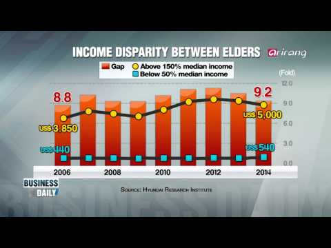 Business Daily-Income gap among the elderly   노인층의 빈익빈 부익부, 현실은?