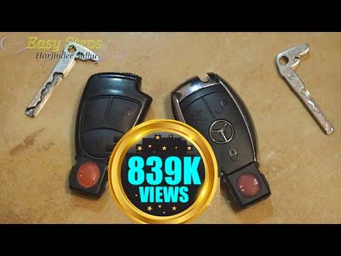 Replace Battery Mercedes Key FOB Not Working   Smart KeyFob Dead Batteries