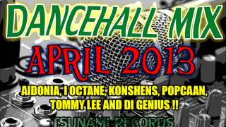 Dancehall Mix April 2013