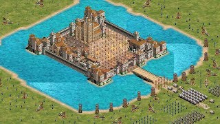 CASTLE SIEGE - Age of Empires 2 HD (4K Gameplay)
