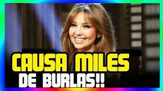 VIRAL VIDEO THALIA CHALLENGE CAUSA MILES de BURLAS, THALIA REACCIONA!!