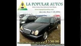 .:La Popular Autos:. - Mercedez Benz E 320 (1999)