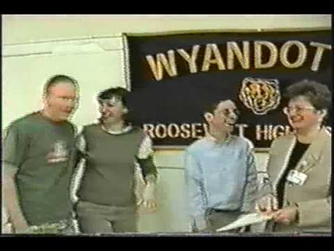 Roosevelt High School Class of 2000 Wyandotte Michigan video year book Video