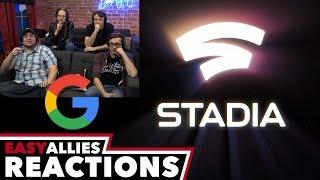 Google Stadia GDC Keynote - Easy Allies Reactions