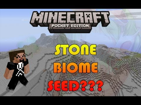 WEIRDEST SEED EVER ?!?!? Minecraft Pocket Edition