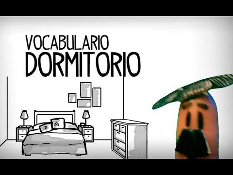 Vocabulario Dormitorio En Español, Las Partes De La Casa
