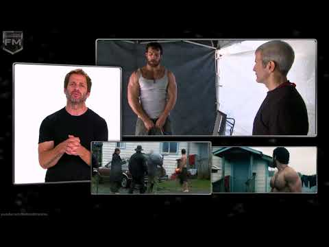 Zack Snyder About Henry Cavill 'Man Of Steel' Behind The Scenes [+Subtitles]
