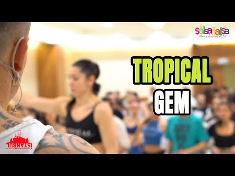 SALSA FOOTWORK SHINES! (Tropical Gem Workshop)