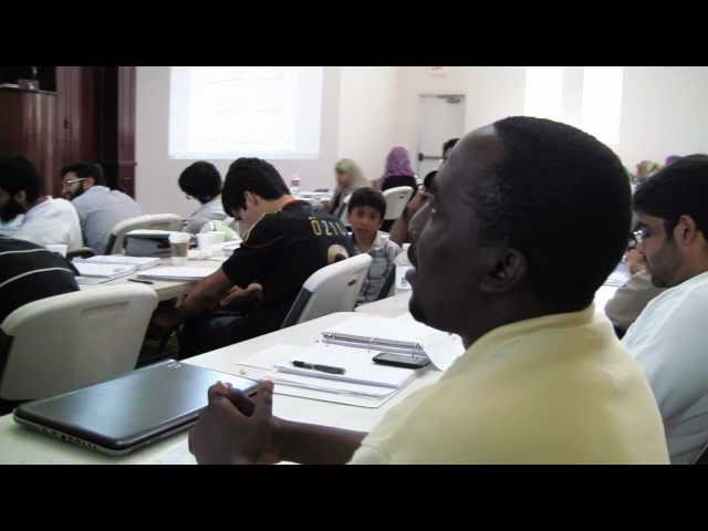 Quran Intensive 2011: Day 19 - Working Hard