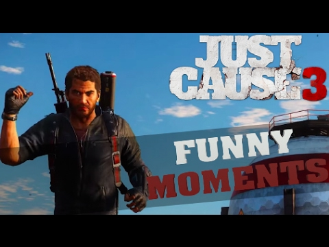 Just Cause 3 Funny Moments Montage
