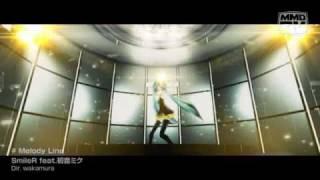 【初音ミク】 Melody Line 【MMDPV】