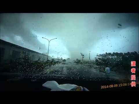 Taiwan Tornado Hurls Car in Air