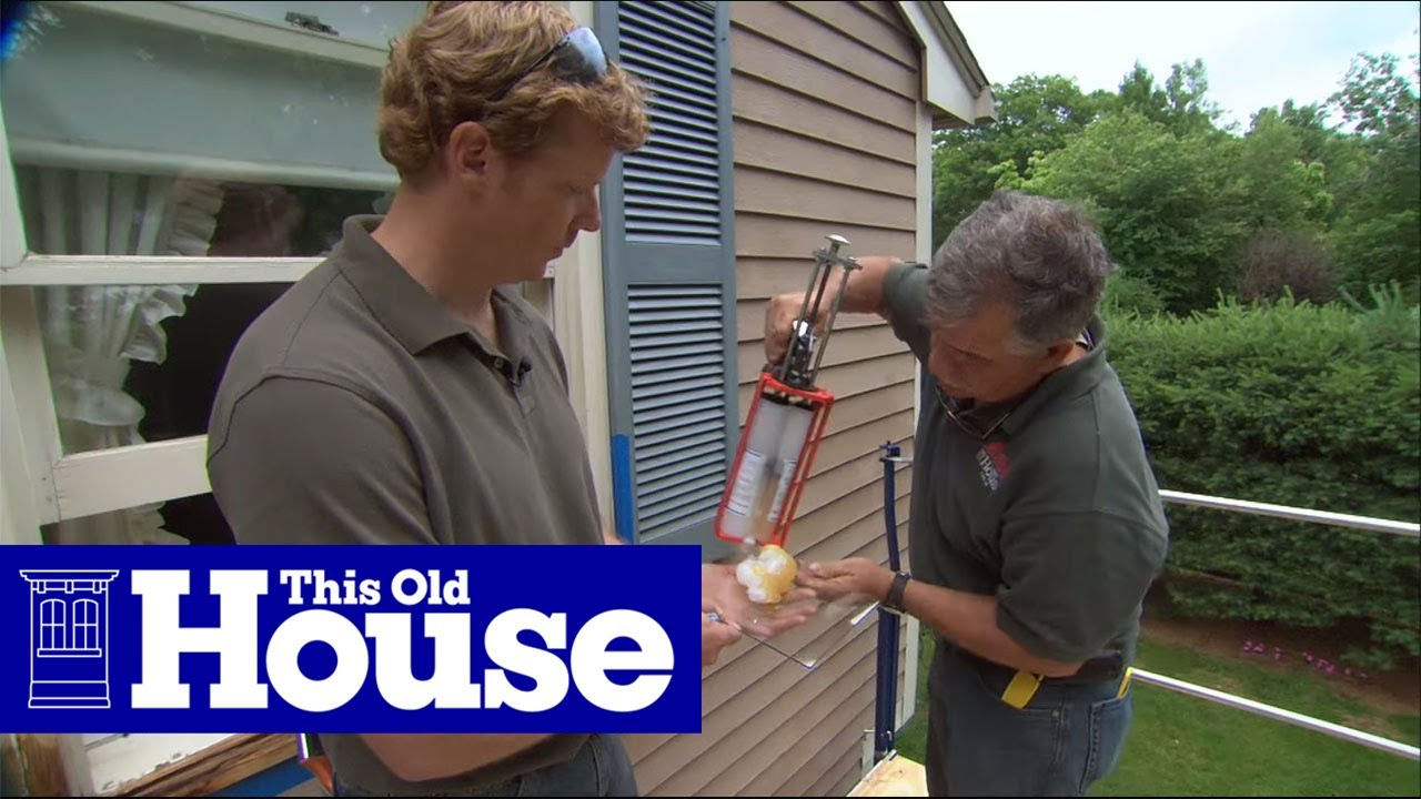 How to fix rotted wood with epoxy this old house youtube How to replace an exterior window